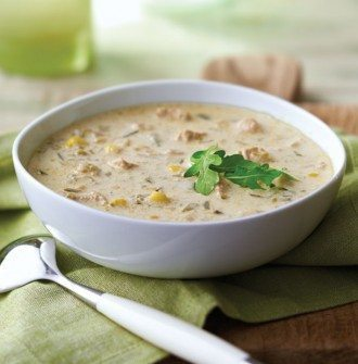 Poblano Chicken Chowder