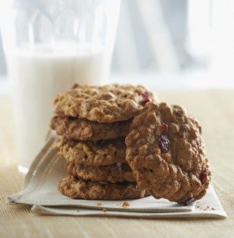 Cranberry-Chocolate Oatmeal Cookies