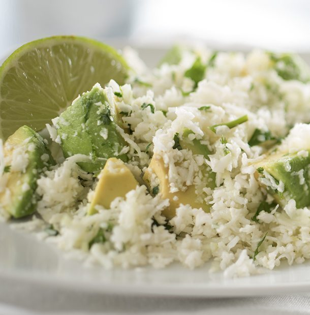 Cauliflower Lime Rice