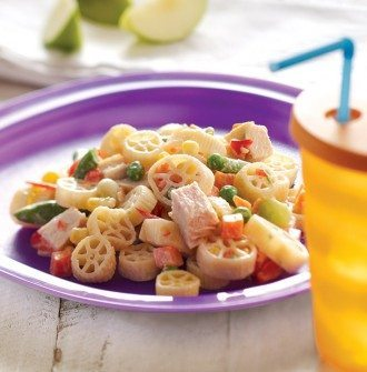 Creamy Macaroni & Ranch Salad