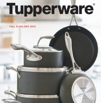 Tupperware Fall & Holiday Catalog 2016