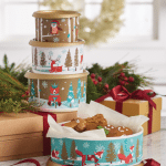 Snowfall Sweeties Holiday Canisters