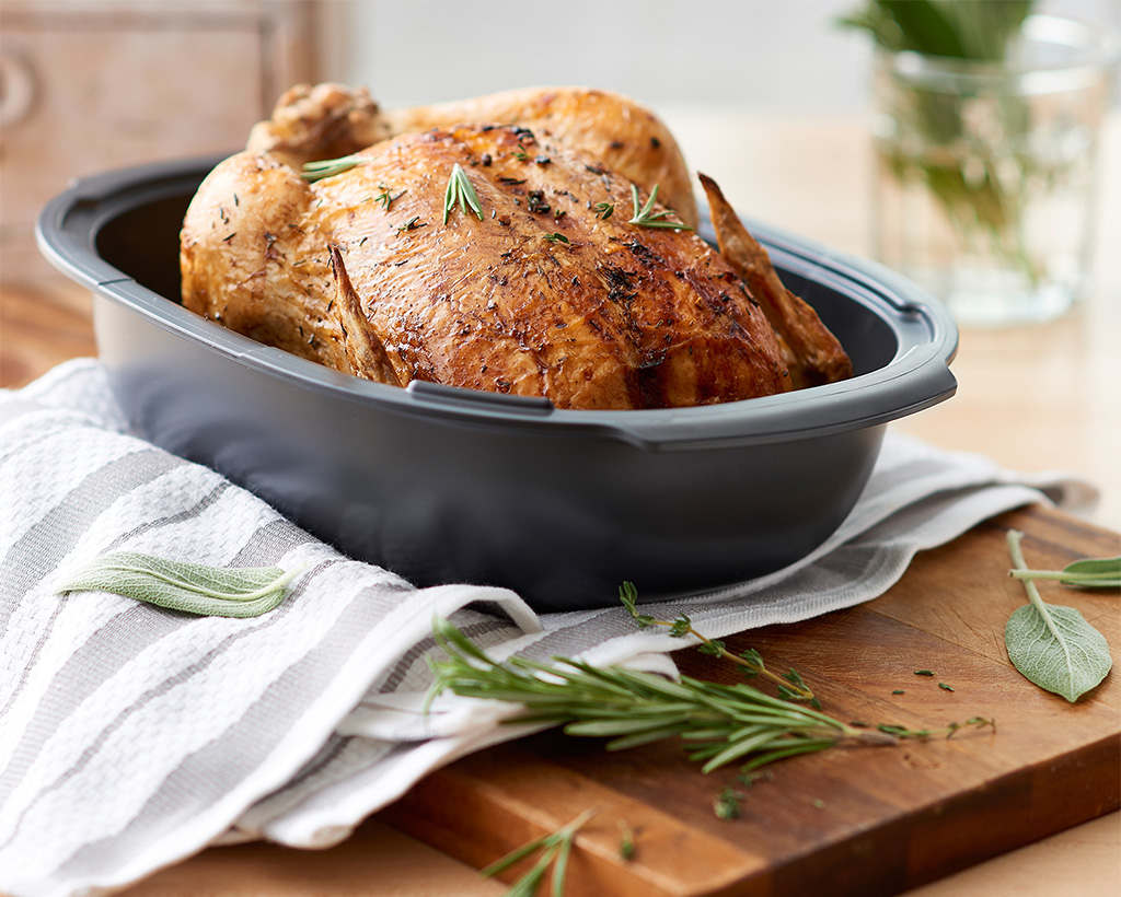 Thyme and Sage Roasted Chicken